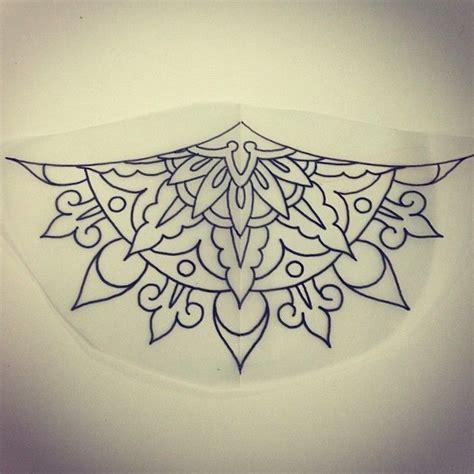 mandala tattoo under chest 32 best under breast tattoo images on pinterest tattoo