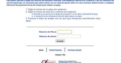 adeudo vehicular chihuahua por numero de serie consulta adeudo vehicular tenencia multas y refrendo