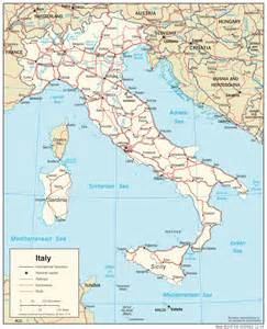 Italy Map by Italy Maps Perry Casta 241 Eda Map Collection Ut Library