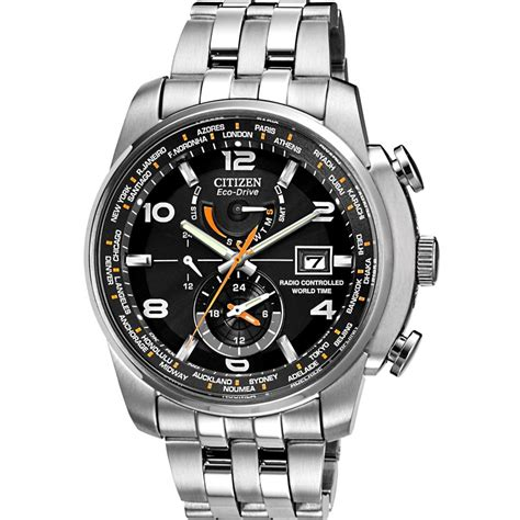 citizen at9010 52e mens eco drive black world time a