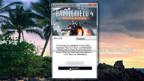 battlefield 4 china rising expansion pack dlc code free on xbox 360 and ps3
