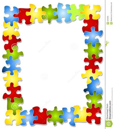 puzzle border clipart free   clipartsgram