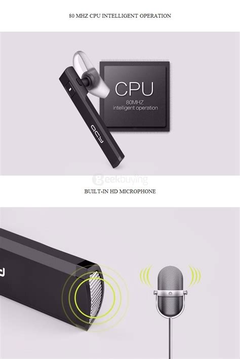 Original Qcy Qy26 Mini In Ear Universal Wireless Bluetooth 41 H original qcy j05 mini wireless bluetooth 4 1 headset with mic black