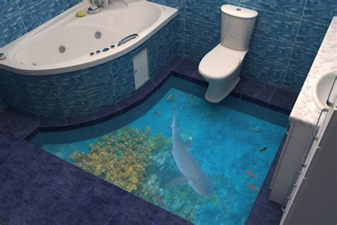 Interior Paint Design Ideas by 3d Flooring Lets You Roll Out Of Bed Into Paradise