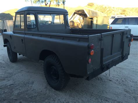 land rover pickup for sale 1973 land rover 109 pick up truck rare for sale in santa