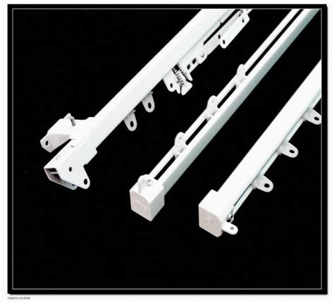 types of curtain rods and tracks china m type single curtain track ta j100 china