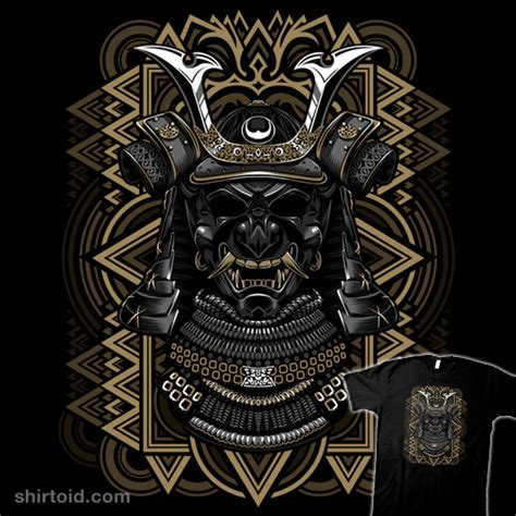 samurai mask shirtoid