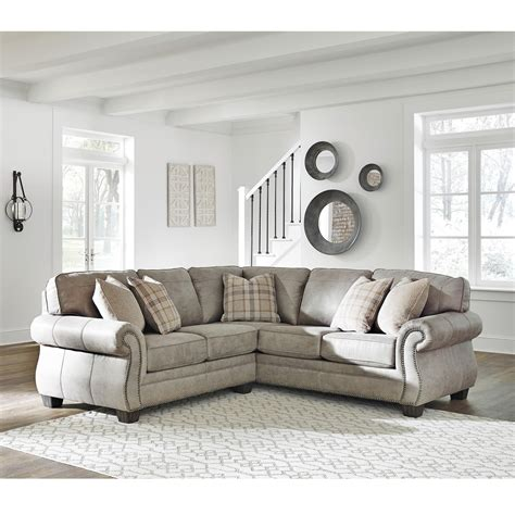 signature design sectional sofa signature design by olsberg 2 transitional