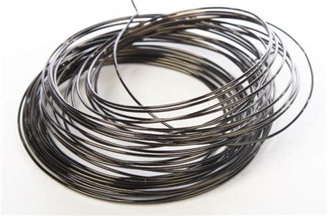 metal wire gun metal gray copper craft wire wire rope string