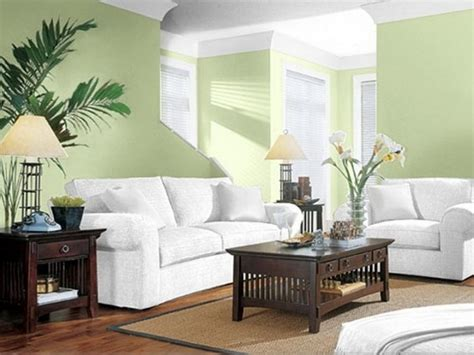 paint color ideas for small living room inside lovely white sofa and green wall modern