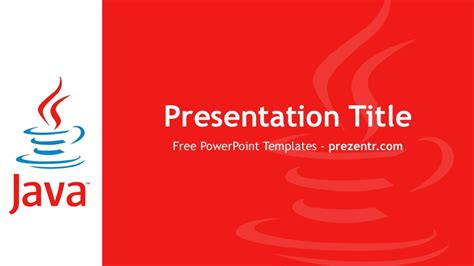 powerpoint presentation templates for java free java powerpoint template prezentr ppt templates