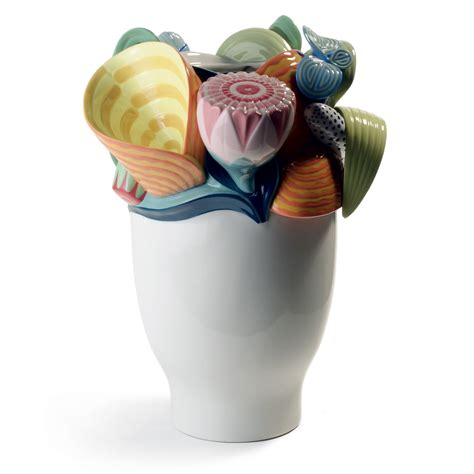 Small Colored Vases Multi Colored Naturofantasic Vase Small 1007915 Lladro Vase