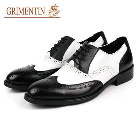 black and white mens oxford shoes black and white mens shoes dress genuine leather oxford