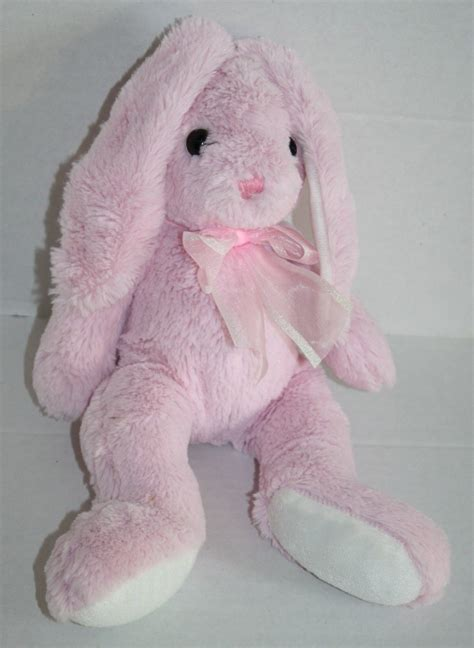 hobby lobby stores pink white plush bunny rabbit easter