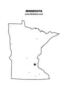 Minnesota Outline With Capital by Printable List Of Us Coins