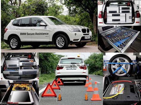 bmw road assistance x3s to provide secure assistance to bmw owners in india