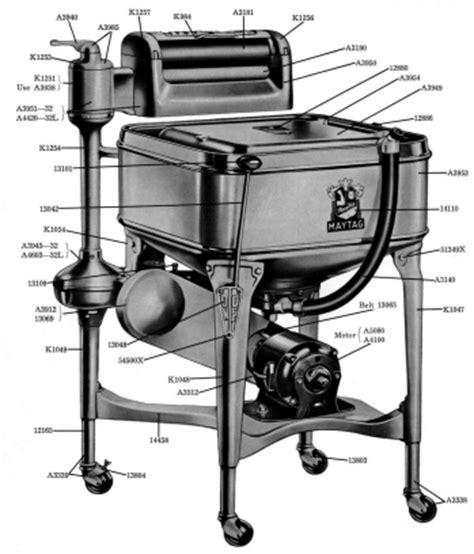 Maytag Wringer Washer Model 32 Amp 32l Parts Manual