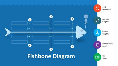 fishbone diagram template powerpoint free fishbone diagram editable powerpoint template