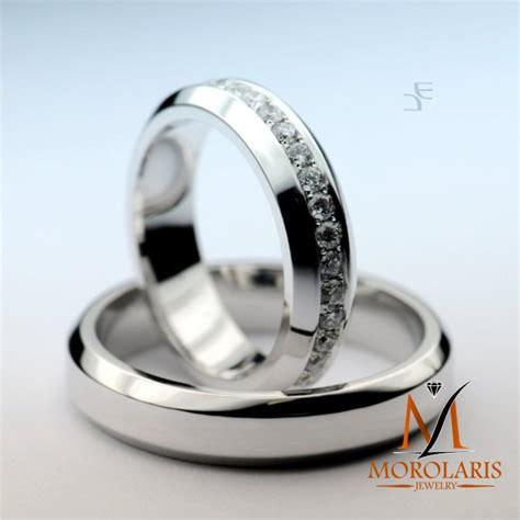 Cincin Kawin Perak Palladium Emas Cp 19 cincin simple favorit z 19 cincin kawin center