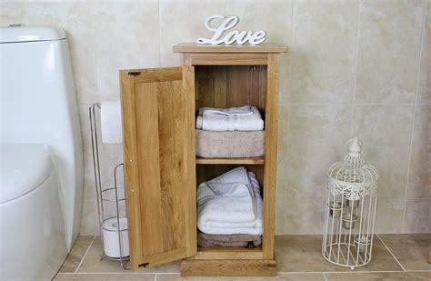 Oak Bathroom Storage Unit 500   Bathrooms and more store