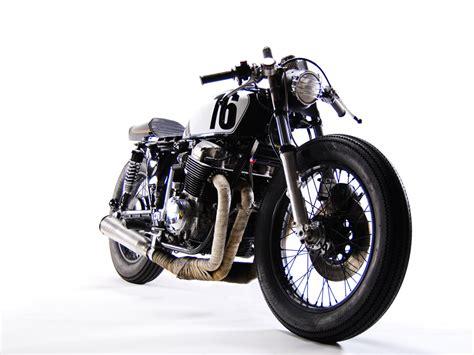 classic honda honda cb750 cafe racer by motohangar custom motorcycles