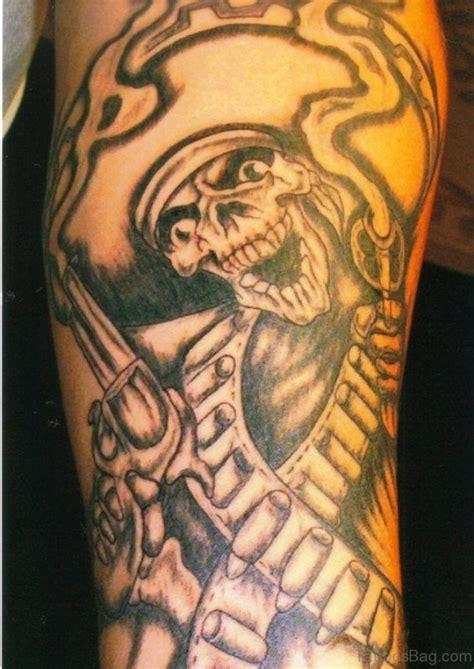 60 Attractive Aztec Tattoos On Shoulder Aztec Skull Tattoos Designs