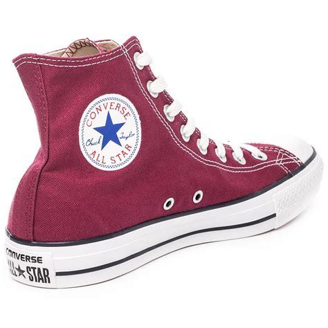 Sepatu Converse Chuck Ii Maroon Made In 1 converse chuck allstar unisex trainers in maroon