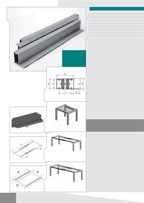 guide scorrevoli per tavoli guide e meccanismi per tavoli allungabili