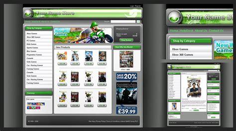 game store layout online game store design by karsten on deviantart