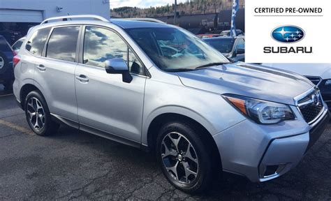 used subaru forester used 2014 subaru forester 2 0xt limited in saint john