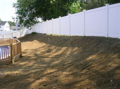 grading a backyard grading backyard