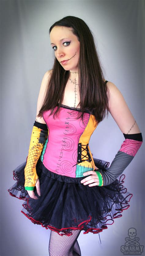 nightmare before sally corset top by smarmy