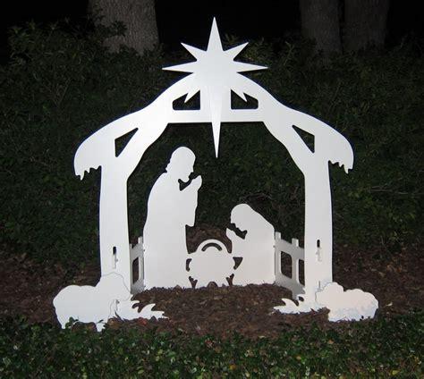 Teak isle christmas outdoor nativity set review yard nativity scene