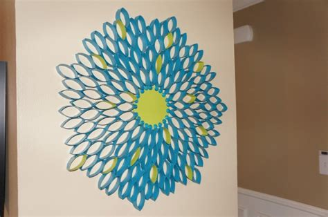 Paper Craft For Wall Decoration - recycled paper wall decor ideas recycled things