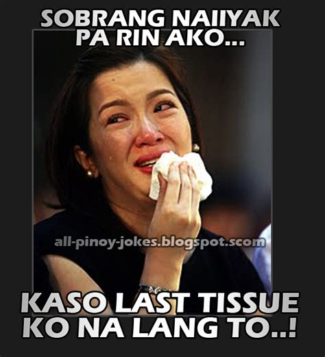 Funny Crying Meme - kris aquino crying meme funny pinoy jokes atbp