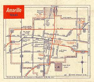 amarillo maps links regional education service centers