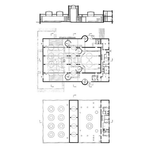 roman catholic church floor plan pastoor van ars church by aldo van eyck gda pinterest