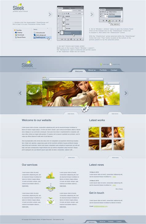 layout artist tutorial sleek web layout tutorial by detrans on deviantart