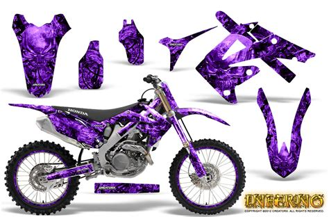 motocross bikes for girls honda crf250r graphic kits 2004 2012 honda mx decals and