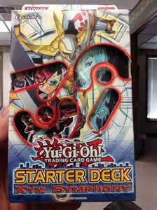starter deck xyz symphony yu gi oh 2012 starter deck xyz symphony