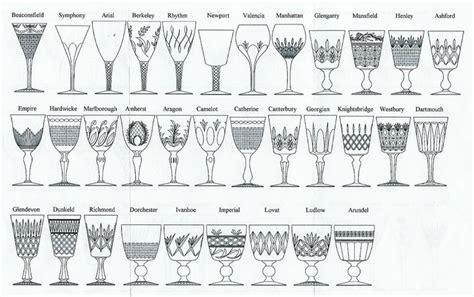 vintage glass pattern identification 37 best hallmarks images on pinterest antique pottery