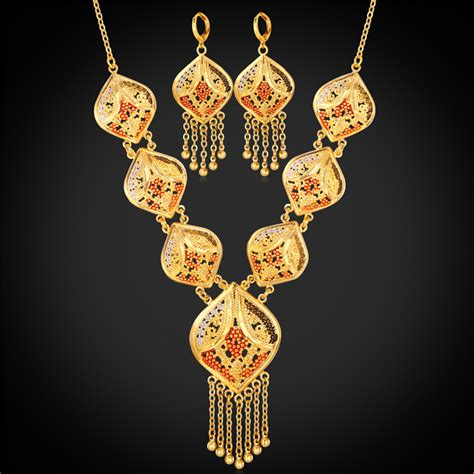 how to make indian jewelry aliexpress buy gold color indian jewelry set