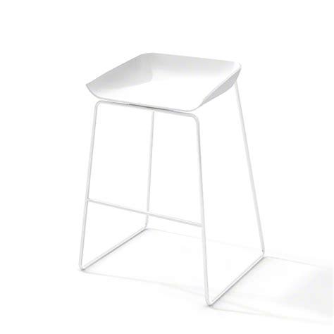 scoop bar stools scoop bar stool white frame