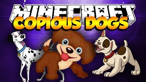 copious dogs mod minecraft mods copious dogs mod 8 new breeds
