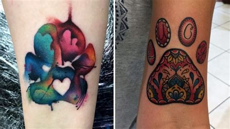 14 beautiful paw print tattoos that might just convince