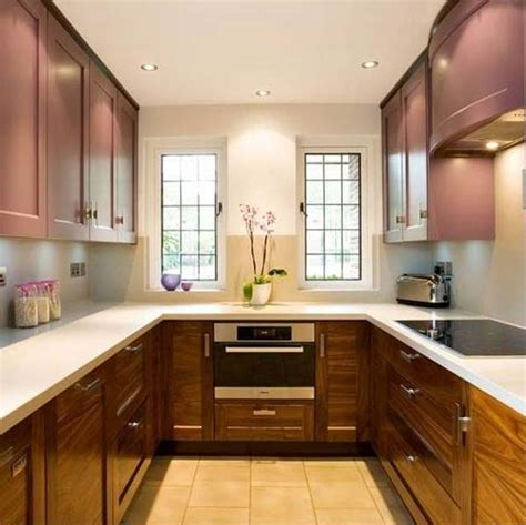 U Shaped Small Kitchen Designs 19 Beautiful Showcases Of U Shaped Kitchen Designs For Small Homes Homesthetics Inspiring