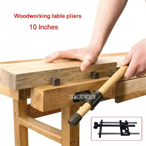 20 inch high bench 10 inches workbench table bench high vise pliers wooden