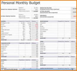 Monthly budget worksheet monthly budget worksheet excel