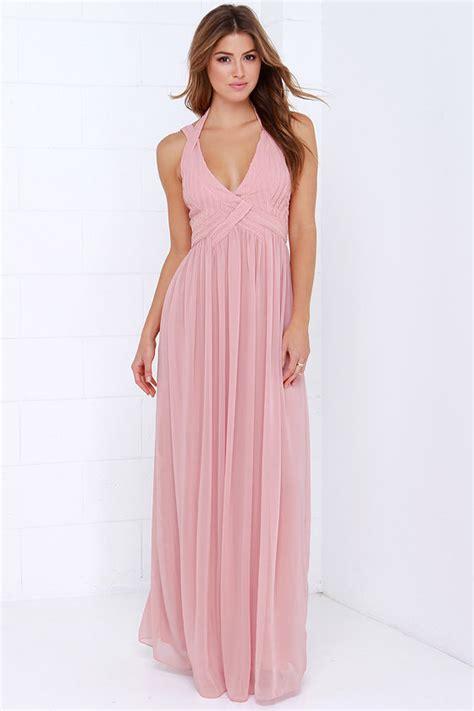 Maxi Dusty Pink maxi dress backless dress dusty pink dress 88 00
