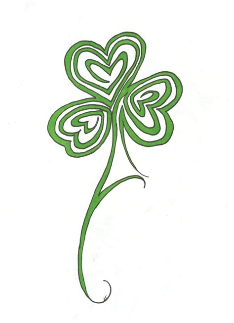 tribal and celtic tattoos shamrock tattoos designs ideas and meaning tattoos for you